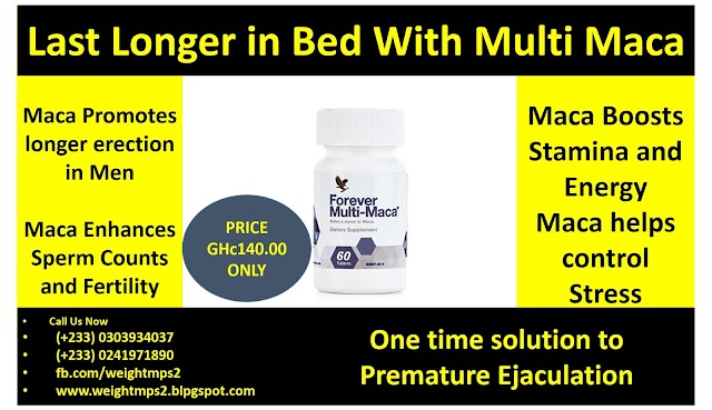 Forever Multi Maca to improve your sex life, promotes libido and last longer in Bed