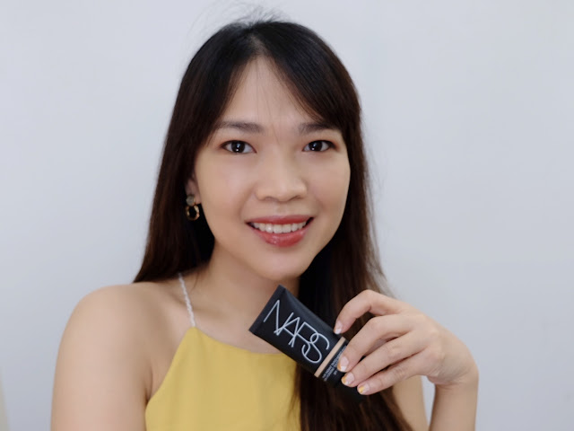 A photo of NARS Pure Radiant Tinted Moisturizer Review By Nikki Tiu of askmewhats.com