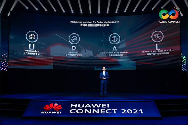 Huawei Connect 2021 - Apostar na inovação contínua para acelerar a digitalização