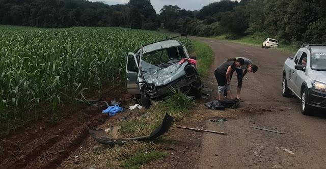 Mais um acidente registrado na estrada entre Roncador e Iretama