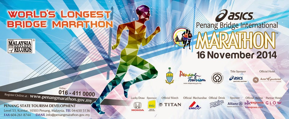 2014 Asics Penang Bridge International Marathon (APBIM)