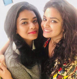 Keerthy Suresh with Cute and Lovely Smile Latest Selfie