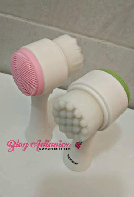 Kotex Facial Cleansing Brush | Untuk anak-anak dara cuci muka