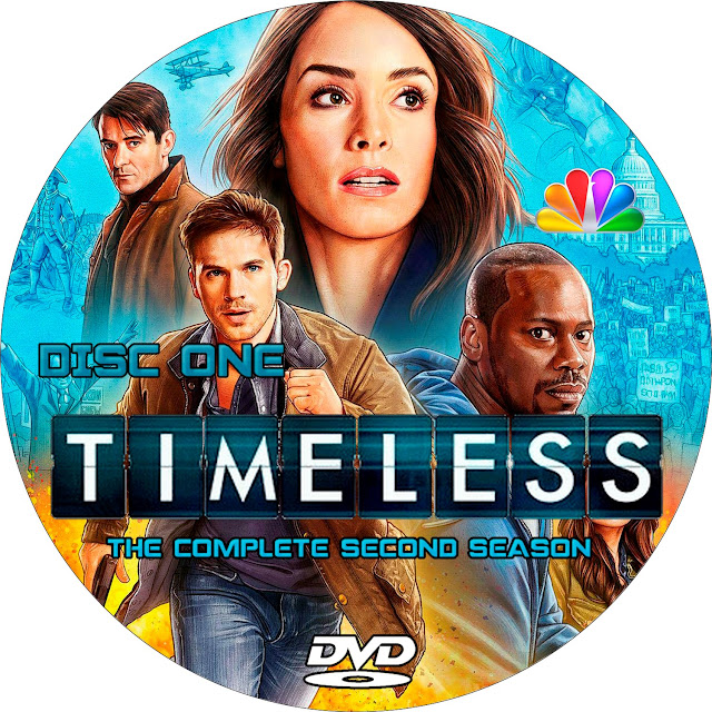Timeless Season 2 Disc 1 Label Cover