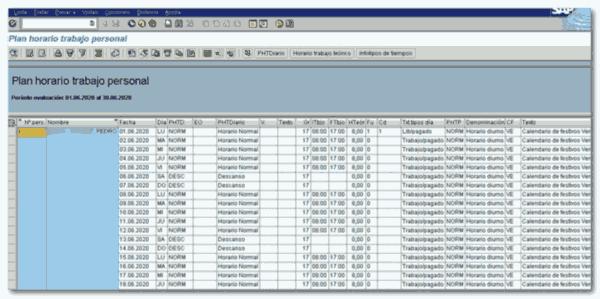 Transacción PT63 - Consultoria-SAP