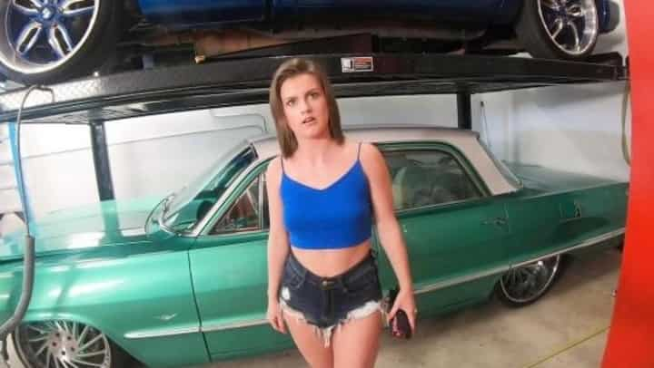 Rose Banks in Rose Banks Covers The Bill With Sex To Get Her Mom's Car Fixed - Bang