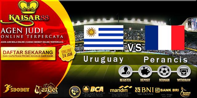 Prediksi Bola Jitu Uruguay Vs Perancis 6 Juli 2018