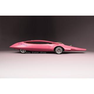 سيارة النمر الوردي