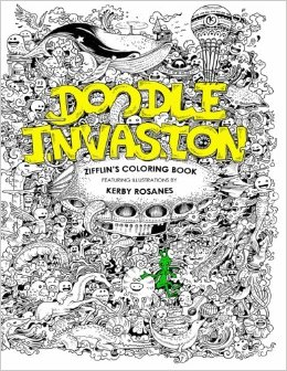 Doodle Invasion Buku Mewarnai Ini Diciptakan Oleh Seorang Ilustrator Asal Filipina Yang Mempunyai Hobi Doodling