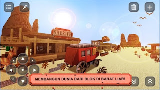 Wild West Craft: Eksplorasi 3D Android App