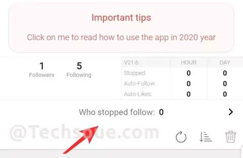تتبع متابعي انستقرام 2