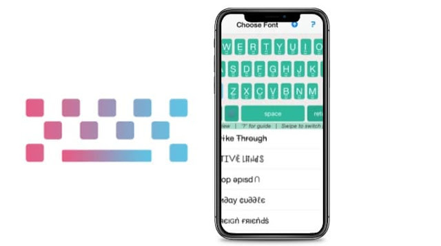 تحميل خطوط انستقرام iPhone / iPad Instagram