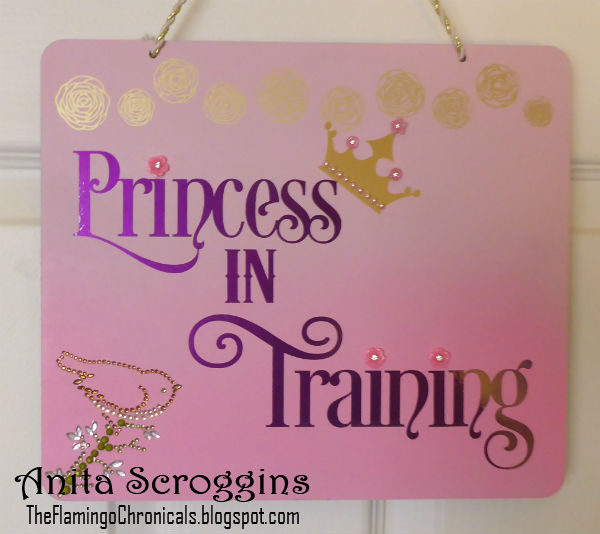 Princess in Training Door Sign