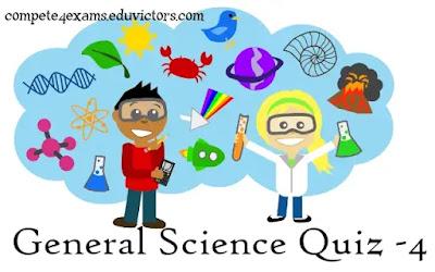 General Science (Chemistry) Quiz-4(#sciencequiz)(#chemistryquiz)(#compete4exams)(#eduvictors)(#ntpc)(#ssc)