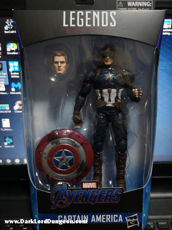 Dark Lord Dungeon Avengers Endgame Worthy Captain America Action Figure