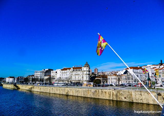 Baixa de Coimbra e o Rio Modego