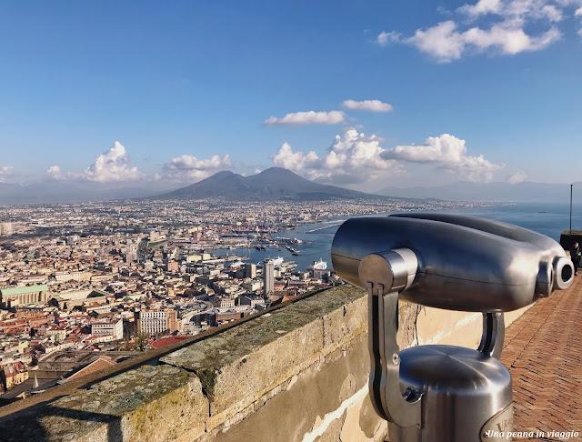 Castel Sant' Elmo Napoli vista panoramica