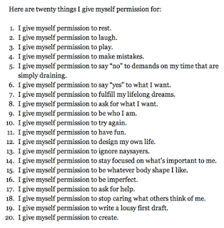 I Give Myself Permission - ygoel.com