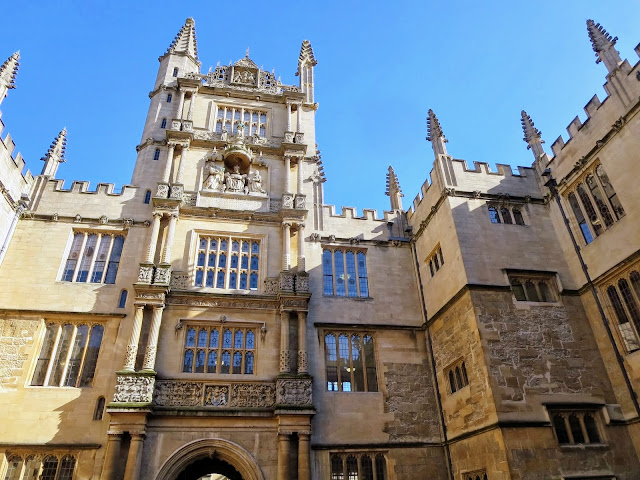 Lond to Oxford: Bodleian Library
