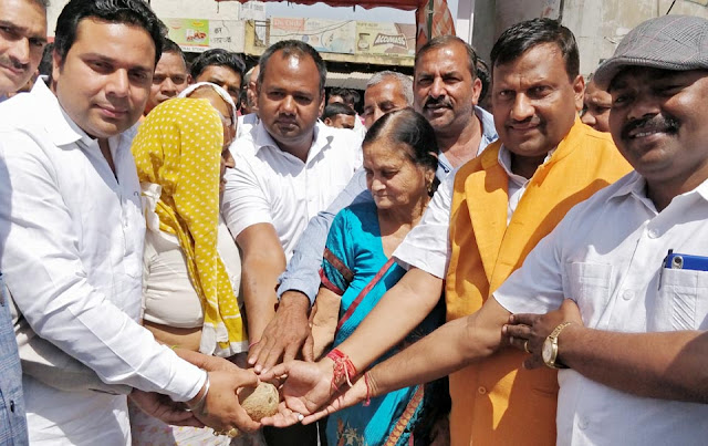 Deepak Mangla boasts 1.5 crore coconut for development works in Palwal