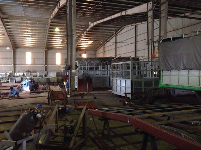 Xưởng đóng thùng xe tải theo yêu cầu