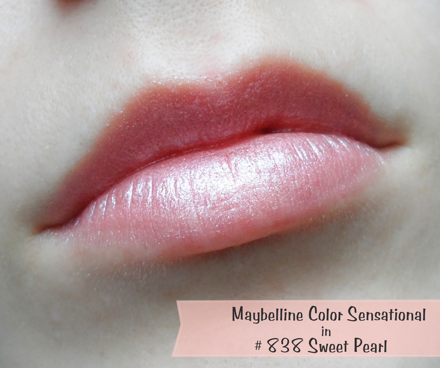 Maybelline lipstick reviewMaybelline Color Sensational lipstick review swatches, Maybelline Color Sensational Pearl, Maybelline lipstick review liz breygel january girl