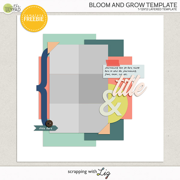 NSD Blog Hop - Bloom & Grow FREEBIE!