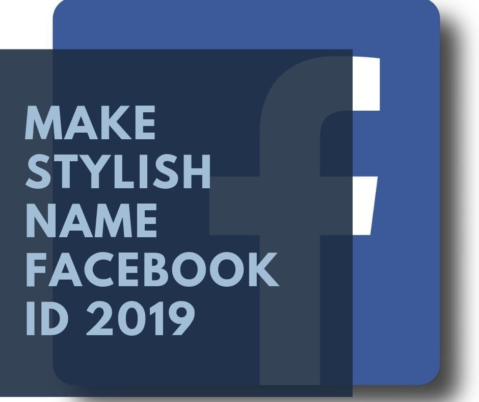 How to Make Stylish Name Facebook