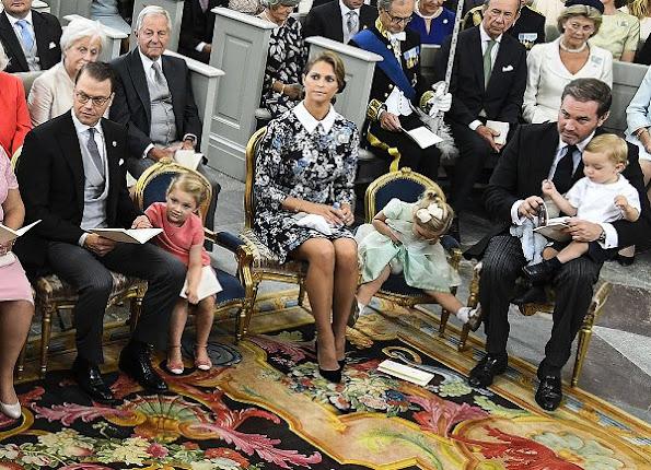Baptism of Prince Alexander of Sweden, Princess Madeleine, Princess Victoria, Princess Estelle, Princess sofia, Princess Leonore, Prince Oscar, Prince Nicolas, Queen Silvia