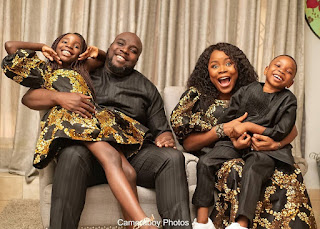 Singer Omawunmi Shares Adorable Family Photo