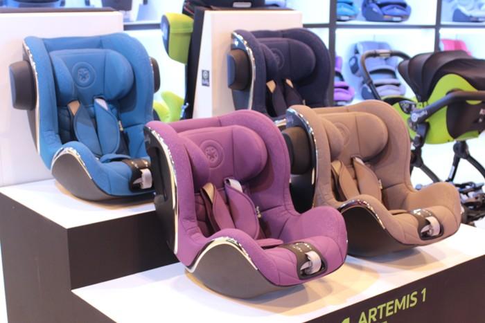 Nueva silla a contramarcha de Kiddy: Artemis 1