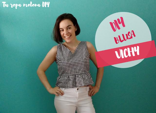 DIY blusa vichy