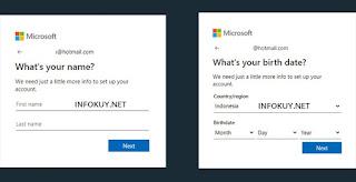 Cara Membuat Email Outlook atau Hotmail di PC #4
