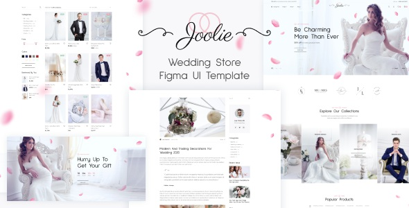 Best Wedding Store Figma UI Template