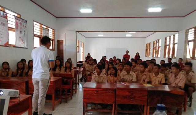 Penyuluh BNNK Tana Toraja: Siswa Harus Miliki Karakter Kuat untuk Tolak Narkoba