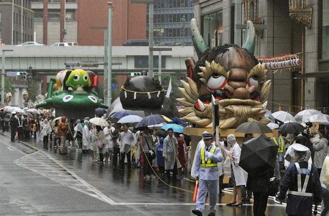 Kanda Festival (parade with 200 portable shrines) at Kanda Myojin Shrine in Tokyo