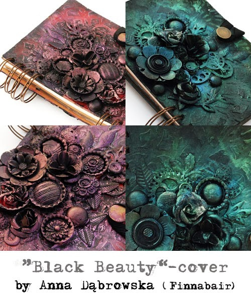 Atelier Black Beauty avec Finnabair à Version Scrap Paris 2015