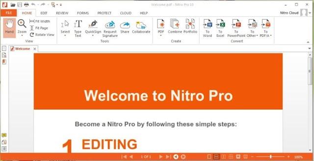 Nitro Pro Enterprise 13.2.6.26 + Crack - Phần mềm chỉnh sửa PDF