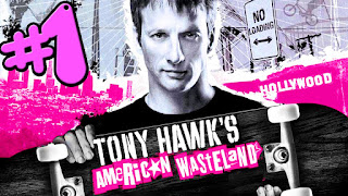 Password Tony Hawk's American Wasteland PS2