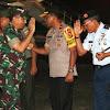 Wakapolda Sulsel Brigjen Pol Risyapudin Nursin Menjemput Panglima TNI Marsekal TNI Hadi Tjahjanto