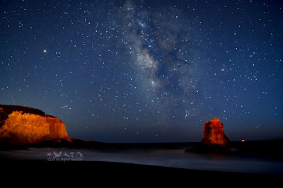 Milky Way - Davenport Beach, California