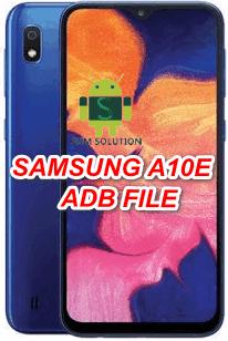 Samsung A10e SM-A102W Eng Boot-Adb File