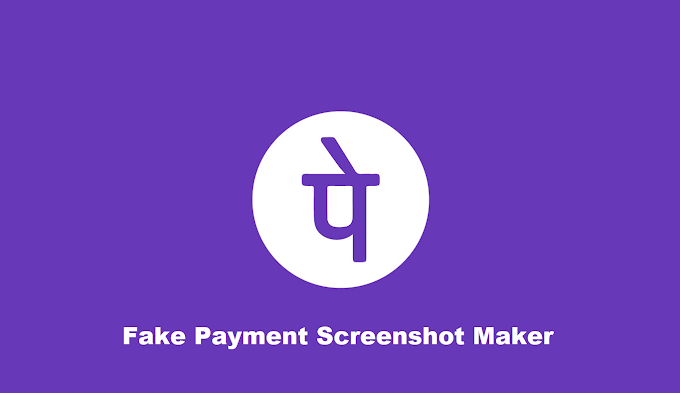 Fake Phonepe Payment Screenshot Generator Online Apk 2021