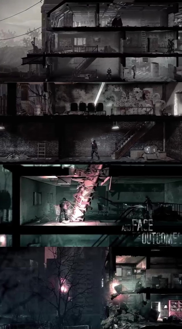 TOP10 SURVIVAL iOS GAMES OF ALL TIME 09. This War of Mine
