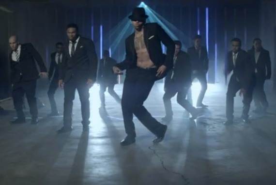 chris brown turn up the music - photo #7