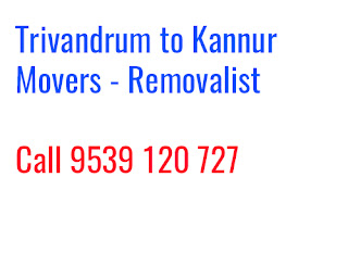 Trivandrum to Kannur Movers