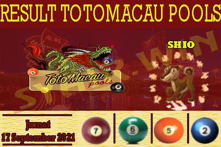 Syair BD Toto Macau Jumat 17 September 2021