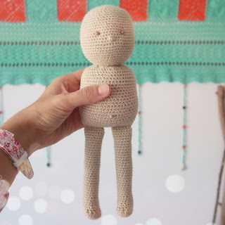 muñeca crochet ahuyama amigurumi