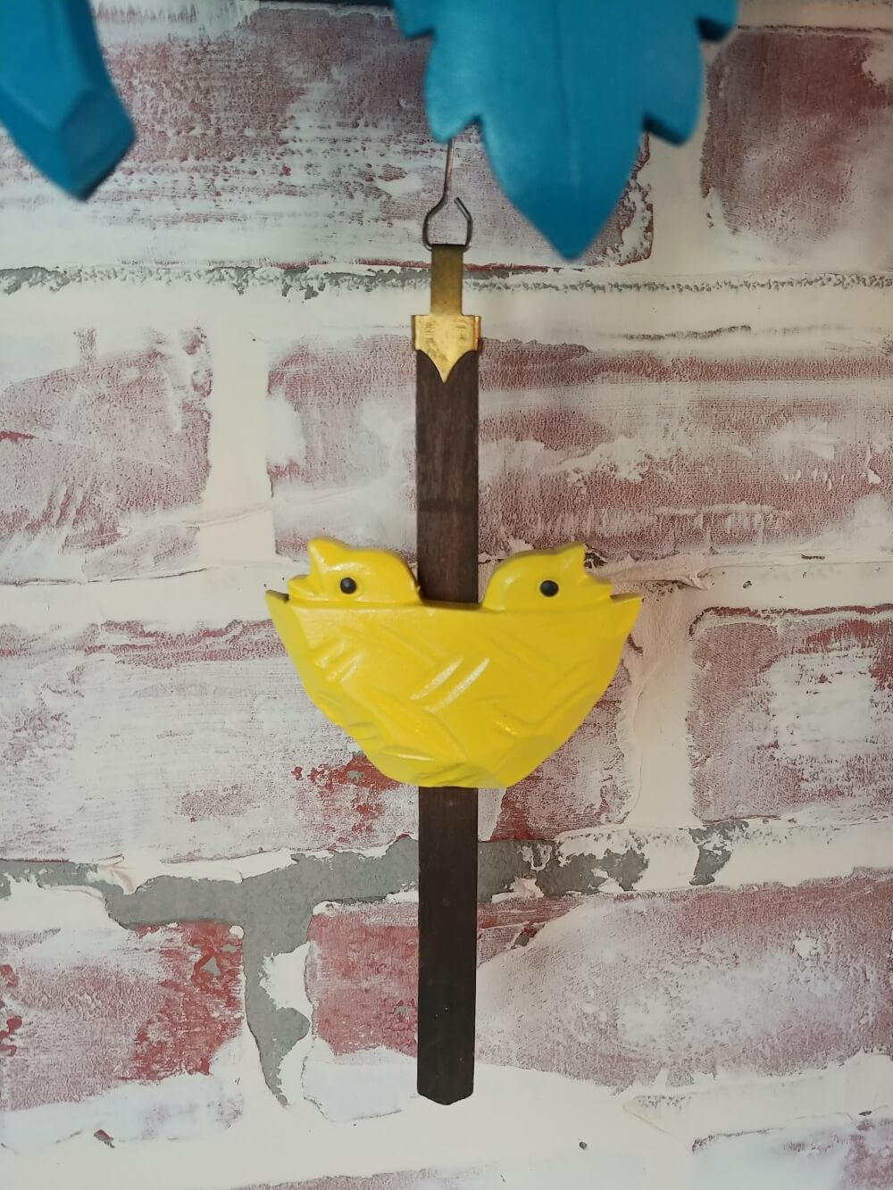 Upcycled Cuckoo Clock pendulum