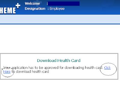Download Permanent Telangana Health Cards